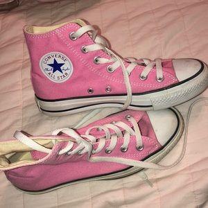 Converse Pink High Tops